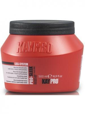 Маска Дисциплинирующий для химически выпрямленных волос - 500 МЛ. KayPro 19586. Цвет: белый