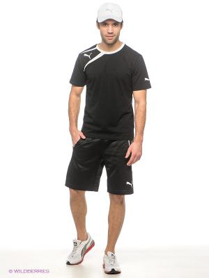 Шорты Training Short Puma. Цвет: черный