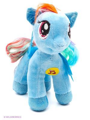Мягкая игрушка Мульти Пульти пони Радуга Мульти-пульти. Цвет: голубой