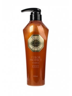 Шампунь для сохранения цвета волос, 500 мл La miso. Цвет: белый