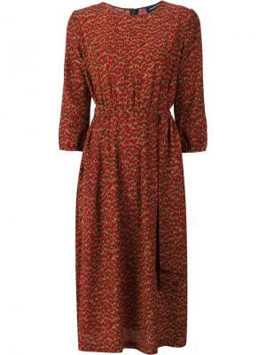 Платье Aurore Vanessa Seward. Цвет: красный