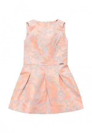 Платье Guess. Цвет: коралловый