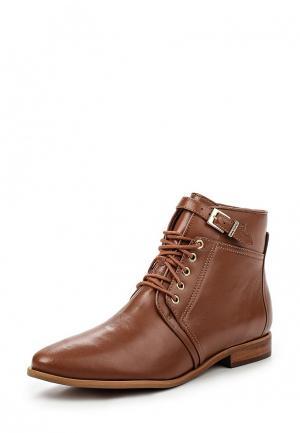 Ботинки Crislli. Цвет: коричневый