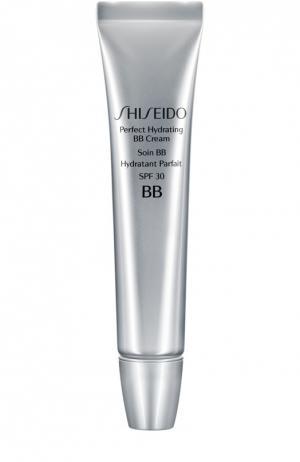 Крем BB Идеальное увлажение, оттенок Светлый Shiseido. Цвет: бесцветный