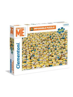 Clementoni. Миньоны - Бесчисленное множество. Пазл Clementoni. Цвет: желтый, белый, синий