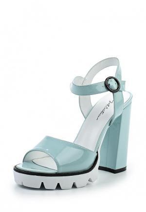 Босоножки Just Couture. Цвет: голубой