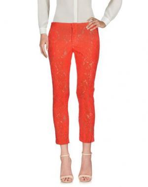 Повседневные брюки AINEA. Цвет: коралловый
