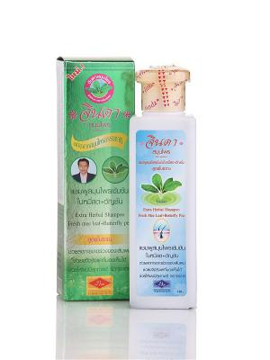 Jinda Extra Shampoo - Интенсивный Травяной Шампунь от выпадения волос. Цвет: белый