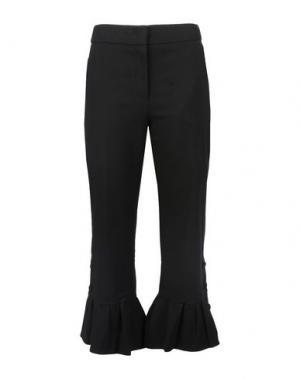 Повседневные брюки LUCKY CHOUETTE. Цвет: стальной серый