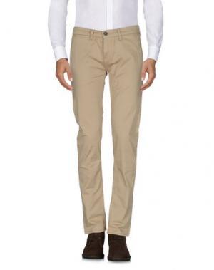 Повседневные брюки 2 MEN. Цвет: верблюжий