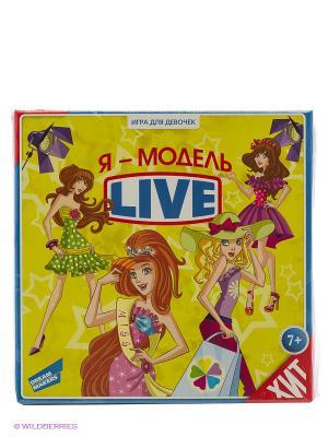 Игра настольная Я - модель. Live! DREAM MAKERS. Цвет: желтый