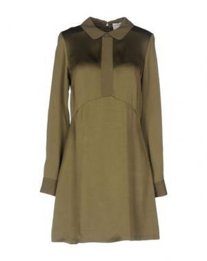 Короткое платье SONIA DE NISCO. Цвет: зеленый-милитари