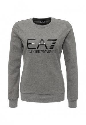 Свитшот EA7. Цвет: серый