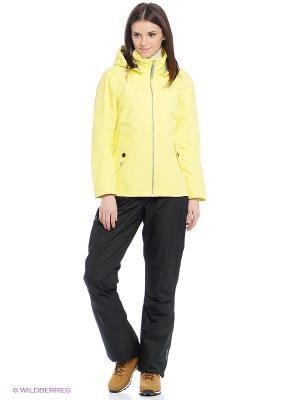 Куртка LEA DIDRIKSONS. Цвет: желтый