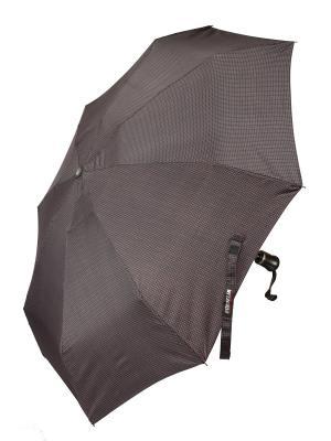 Зонт Euroclim. Цвет: черный, коричневый