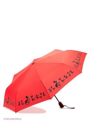 Зонт Doppler. Цвет: красный, черный