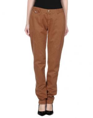 Повседневные брюки KUBERA 108. Цвет: коричневый