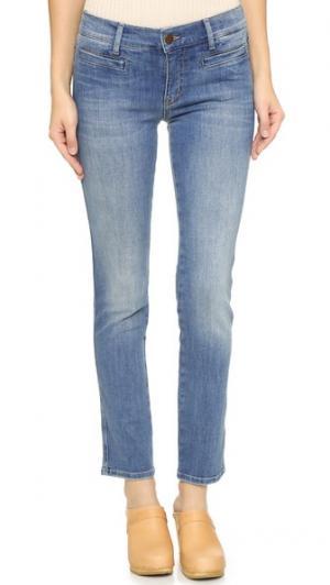 Укороченные джинсы Paris M.i.h Jeans. Цвет: потертый голубой