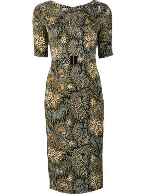 Платье с декоративным вырезом Suno. Цвет: чёрный