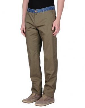 Повседневные брюки COAST WEBER & AHAUS. Цвет: зеленый-милитари