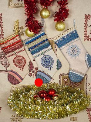 Набор для шитья и вышивания Первая звезда Матренин Посад. Цвет: бежевый, синий
