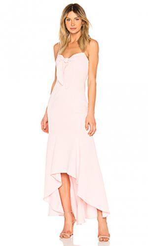 Вечернее платье calhoun LIKELY. Цвет: розовый