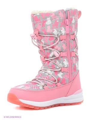 Дутики Kakadu. Цвет: розовый