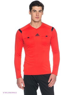 Лонгслив REF 14 JSY LS Adidas. Цвет: коралловый