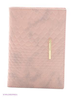Бумажник водителя Dimanche. Цвет: розовый