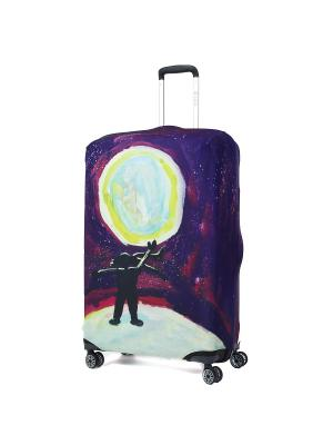 Чехол для чемодана Mettle, Модель Serenity, Размер  L Mettle. Цвет: черный, желтый, индиго