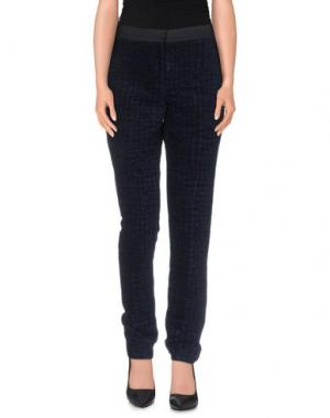 Повседневные брюки THE ROW. Цвет: темно-синий