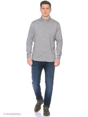 Рубашка - INES MANGO MAN. Цвет: серый