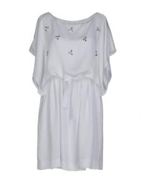 Короткое платье BELAIR. Цвет: белый