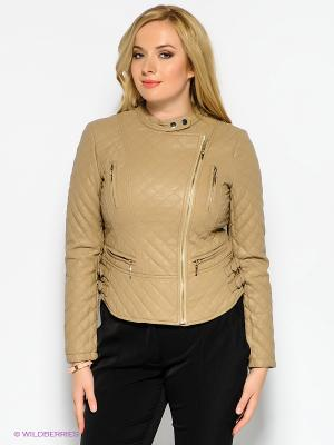 Куртка Baon. Цвет: бежевый, желтый