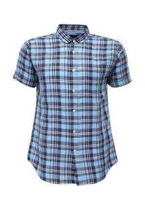 Рубашка Springfield. Цвет: синий