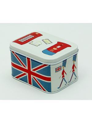Коробка для безделушек и мелочей Лондон Magic Home. Цвет: белый