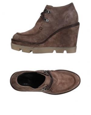 Полусапоги и высокие ботинки JANET SPORT. Цвет: хаки