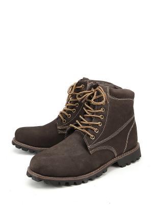Ботинки Bukanero. Цвет: коричневый