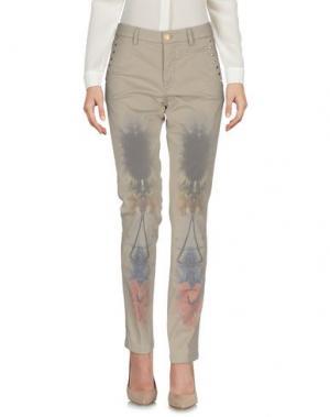 Повседневные брюки HISTORY. Цвет: бежевый