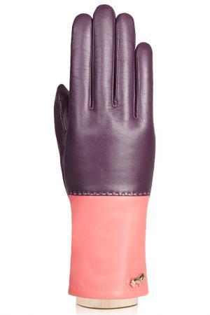Перчатки Labbra. Цвет: темно-фиолетовый, коралловы
