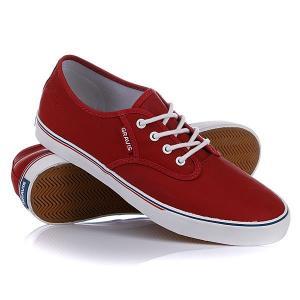 Кеды кроссовки  Slymz Wax Mns Red Gravis. Цвет: красный