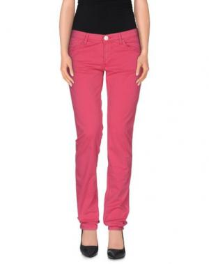 Повседневные брюки ZERO. Цвет: фуксия