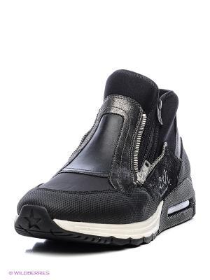 Ботинки ASH. Цвет: черный, серый, синий