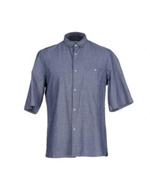 Pубашка M.GRIFONI DENIM. Цвет: синий
