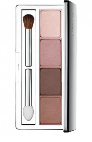 Тени для век All About Shadow Quad Pink Chocolates Clinique. Цвет: бесцветный