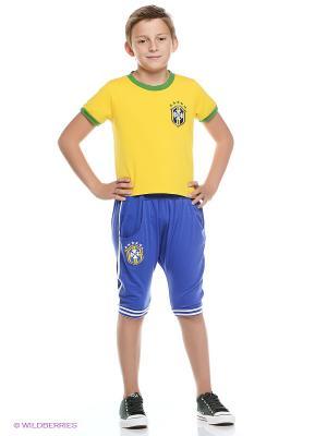 Комплект Kidly. Цвет: синий, желтый