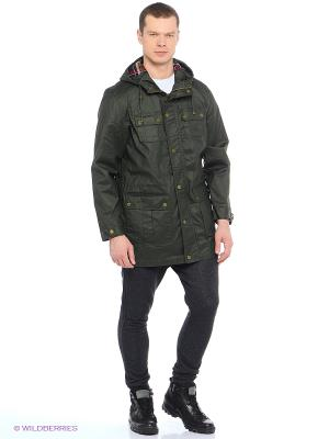 Куртка Trespass. Цвет: зеленый