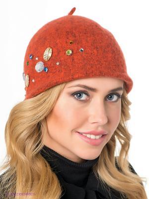 Шляпа SEEBERGER. Цвет: терракотовый