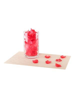 Набор декоративных лепестков EL CASA. Цвет: красный