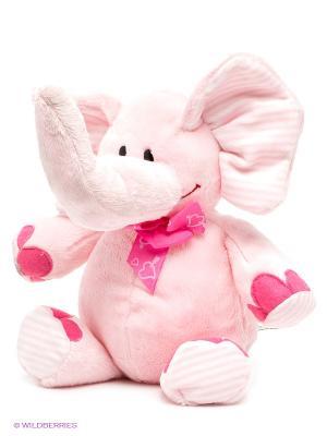 Слон PLUSH APPLE. Цвет: бледно-розовый